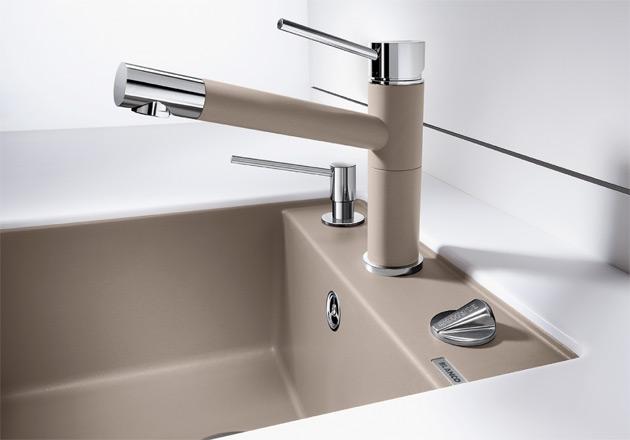 blancoalta compact silgranit hochdruck armatur k chenarmatur blanco alta spuelen. Black Bedroom Furniture Sets. Home Design Ideas